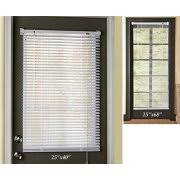 Easy Install Magnetic Window Blinds 25x40 Inch ( 25x68 Inch Sold Separately  )