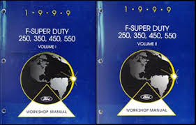 ford f motorhome class a chassis wiring diagram manual 1999 ford f super duty 250 350 450 550 and motorhome repair shop manual set 249 00