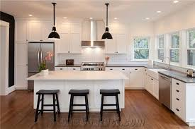 tiffany grey and aspen white solid surface kitchen countertop