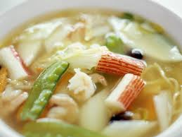 Asian Noodle Soup with Seafood recipe ...