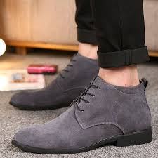<b>Men's Pointed Head</b> Casual Leather Boots #Ad , #Ad, #Head ...