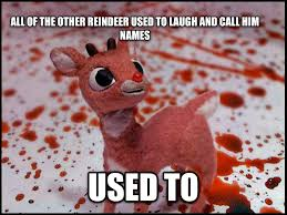 Image result for killer reindeer