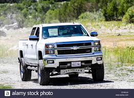 A 2014 Chevy Silverado z71 four wheel drive truck with custom ...