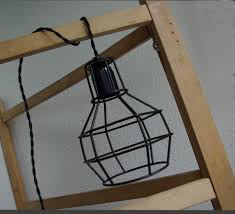 Kooilamp Frame Zwart