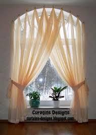 Curtain Design Ideas arched windows curtains on the hooks arched windows treatmentes curtain designs