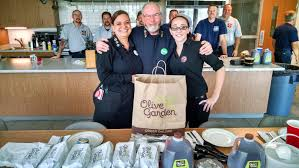 today in honor of labor day olive garden donated lunch to the fire and ems crews working in penn township and hanover borough we would like to thank the