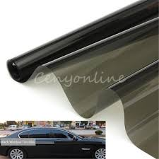 window tint film black 30% 50cm x <b>6m roll</b> 2 ply <b>car auto</b> house ...