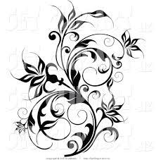 pumpkin vine drawing. free horizontal vine clipart #1311887 pumpkin drawing 1