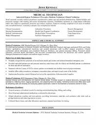 emergency room technician resume - Ophthalmic Assistant Resume