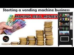 How Much Money Do Vending Machines Make Stunning How To Start A Business Vending Machine YouTube