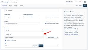 Personalize Your Campaign Freshmarketer