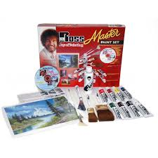 bob ross master paint set with 1 hour dvd r6510
