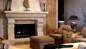 Faux Stone Electric Fireplace Mantel  Fire Place And PitsFaux Stone Fireplace Mantel