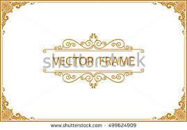 gold frame border vector. Fine Gold Business Card Border Designs On Gold Frame Border Vector O