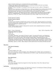 3 - Insurance Adjuster Resume Sample