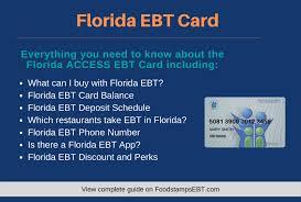 florida ebt card 2020 guide food