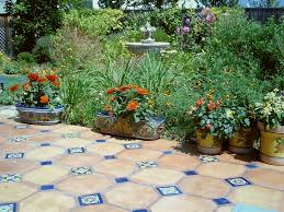 Small Picture Mexican Talavera ceramic tile and saltillo pavers can bring a