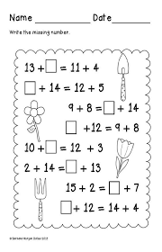 first grade math spring balancing equations addition cc 1 oa 3 1 oa 6