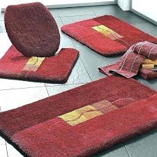 rug sets for bathroom on small size of bath area
