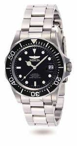 mens invicta automatic watches invicta men s pro diver automatic 200m black dial stainless steel watch 8926