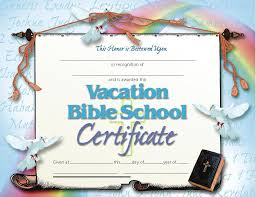 Vbs Certificate Template 6 Best Photos Of Full Size Printable Vbs Certificates Free