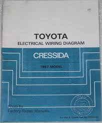 1987 toyota cressida electrical wiring diagrams original manual 1987 toyota cressida electrical wiring diagrams