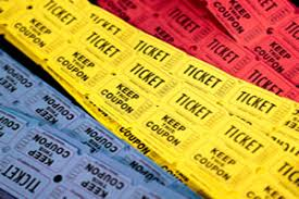Perforated Raffle Ticket Sheets Tickets