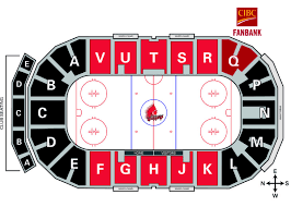 Jaw Chart Seating Chart Moose Jaw Warriors