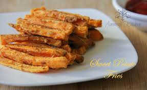 sweet potato recipes indian. Simple Sweet Baked Sweet Potato Fries Inside Recipes Indian E