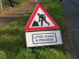 Image result for litter picking