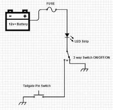 3 pin led wiring schema cablage viddyup com led bed light wiring help tacoma world for 3 pin led wiring