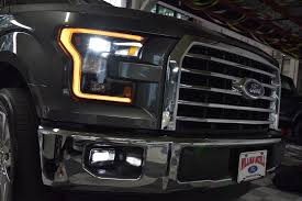 2016 F150 Led Lights Ford F150 15 17 Oem Led Headlights