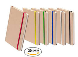 lot of 20 notepad a5 hard er 100 sheets size 14 7 x 21