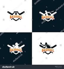 Baseball Design Templates Set Baseball Logo Design Templates Stock Vector Royalty