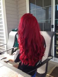 Dyeing Your Hair Red