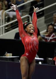 vault gymnastics gabby douglas. Simone Biles Gestures After Competing On The Vault During Women\u0027s U.S.  Olympic Gymnastics Trials Sunday. (AP Photo/Gregory Bull) Gabby Douglas I