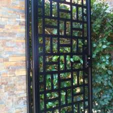 Decorative Metal Gates Design Awesome Buy A Custom Contemporary Metal Gate Walk Thru Iron Garden Estate