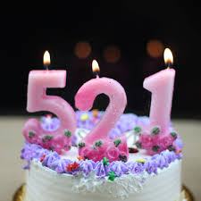 Decoration Birthday Cake Gift Digit Candle Buy Cheap Birthday