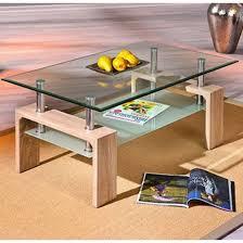 loana glass coffee table with