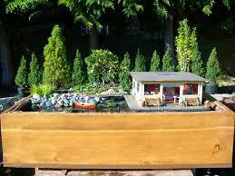 outdoor garden ideas. Miniature Garden Houseboat Outdoor Ideas