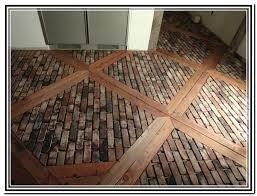 brick vinyl flooring red brick floor