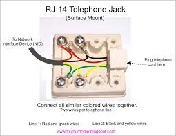 fix your home telephone jack how to wire it telephone jack how to wire it
