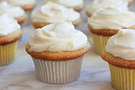 Vanilla Buttermilk Cupcakes With Cream Cheese Frosting Once Upon A