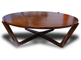 small round coffee tables mid century modern danish walnut low coffee table round vintage x shape varnished wooden round low