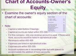 Introduction To Accounting 120 Chapter 5 Chart Of Accounts