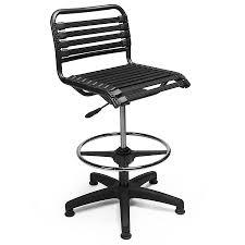 modern drafting chair. Call To Order · Bungie Black Modern Drafting Stool Chair B