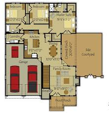 Small Picture plan 067h 0047 floor plan for a small house 1150 sf with 3