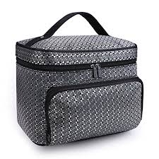 b type grey drq large cosmetic bags multifu