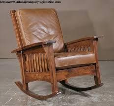 mission chair cushions eteninn leather rocking chair cushions leather rocking chair barcelona city modern design rocking lounge