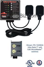 ultra nataor system duplex alternator pump control 1029624 ultra nataor system duplex alternator pump control